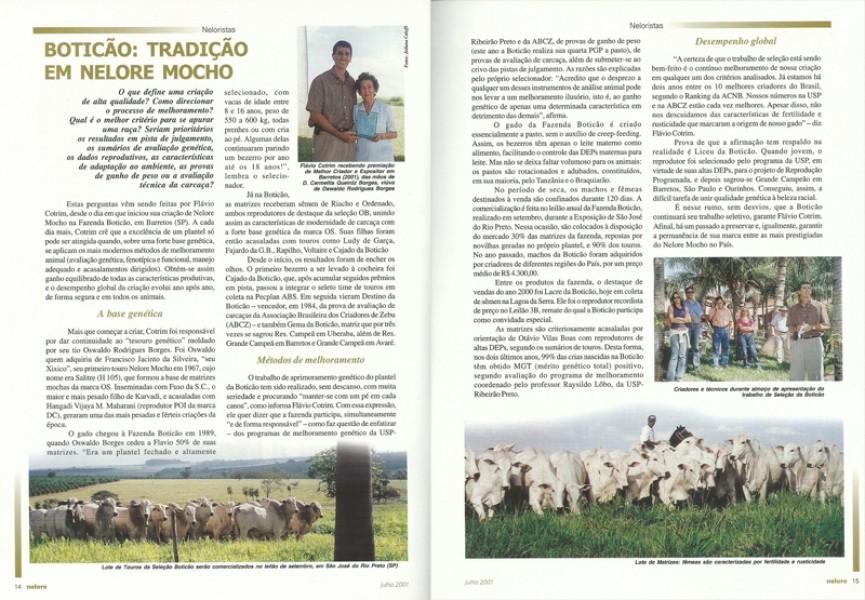 Reportagem Revista Nelore